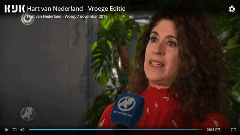 Talking about the midterms on Hart van Nederland