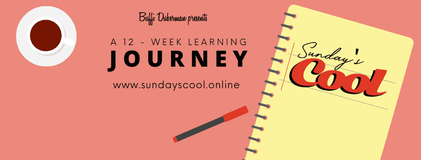 BREAKING NEWS: Welcome to my new online course, Sunday's Cool!